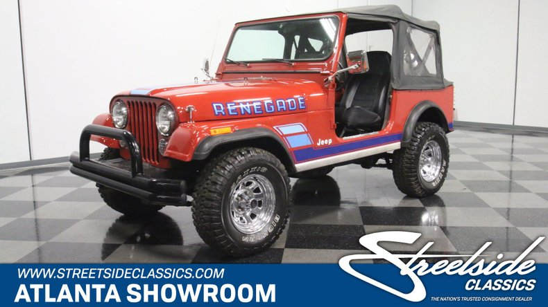 1983 Jeep CJ7 For Sale
