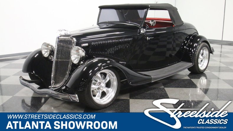 1934 Ford Roadster 1