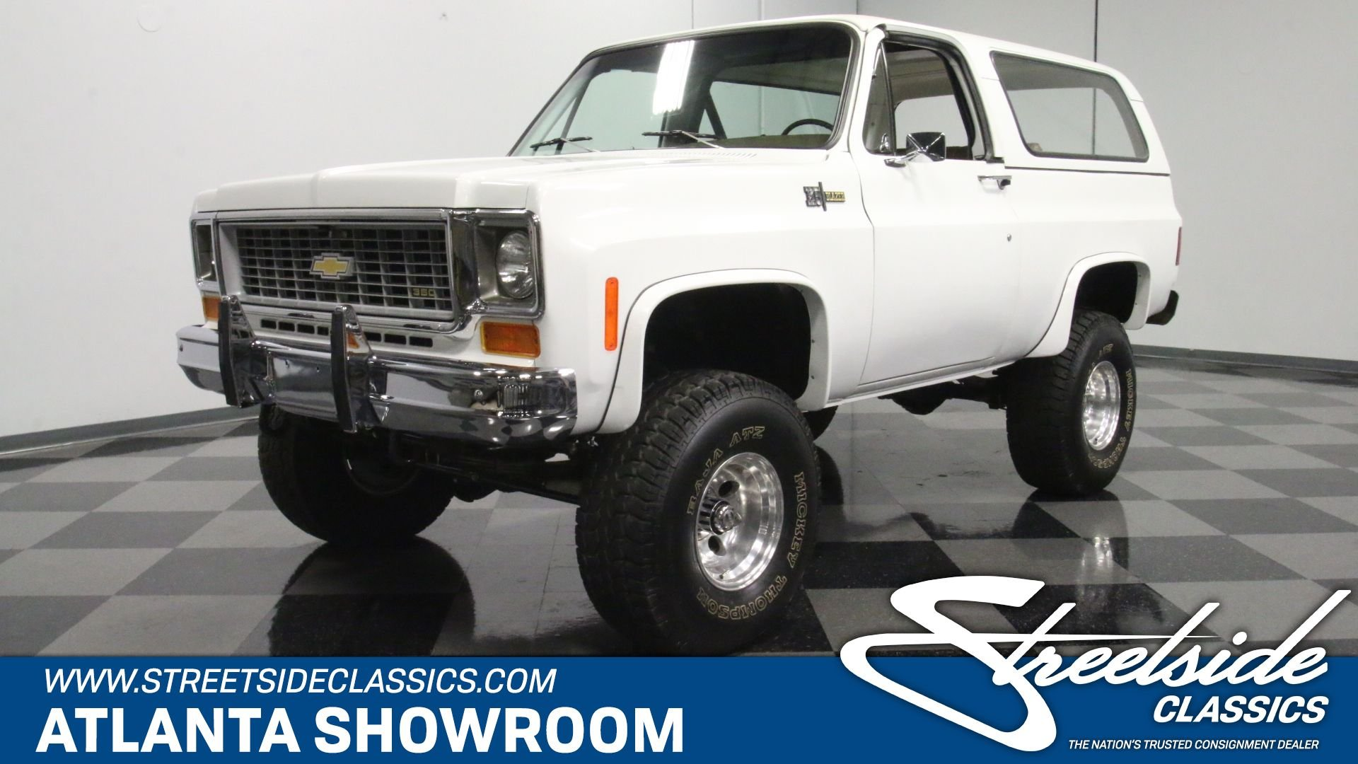 1974 Chevrolet Blazer Classic Cars For Sale Streetside Classics The Nation S 1 Consignment Dealer