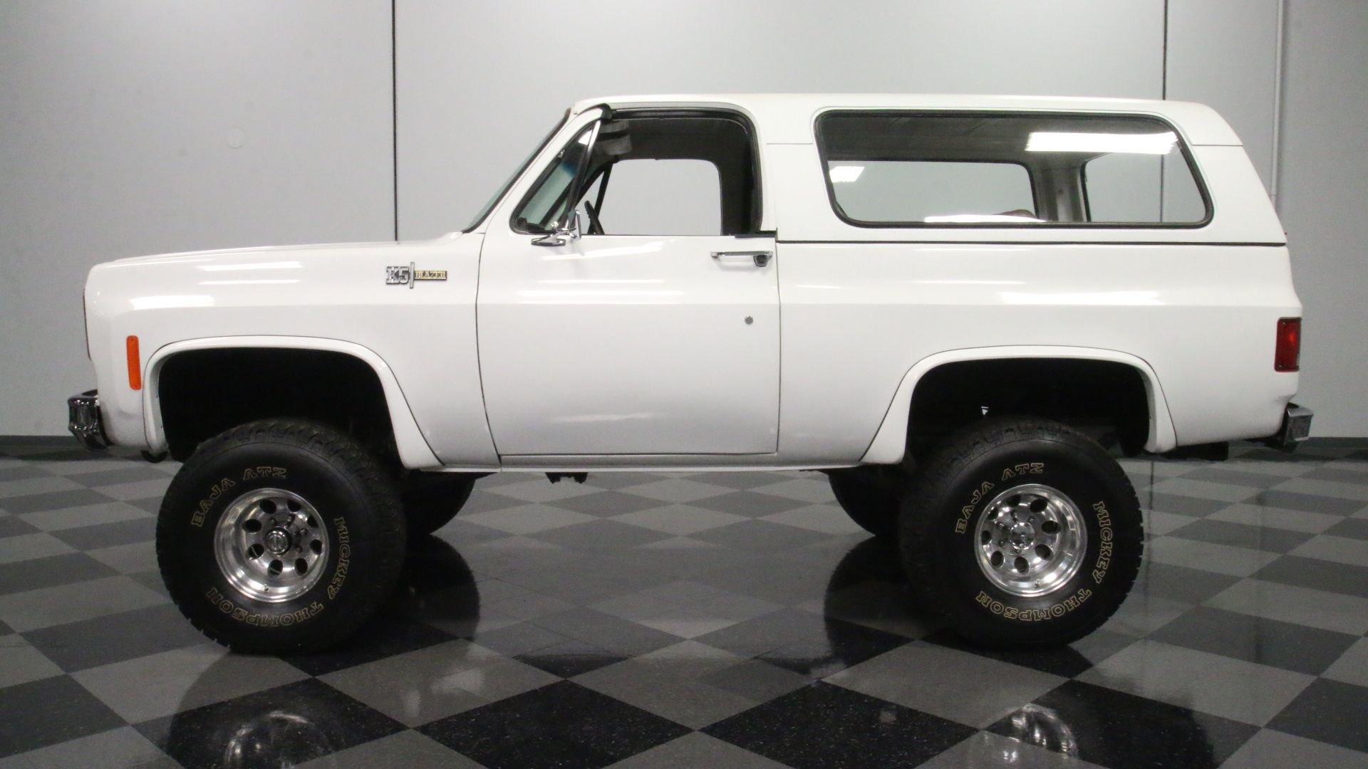 1974 chevrolet blazer k5 4x4