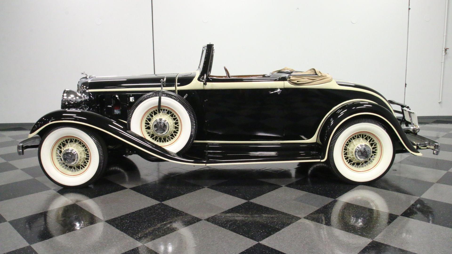 1933 chrysler imperial cq convertible