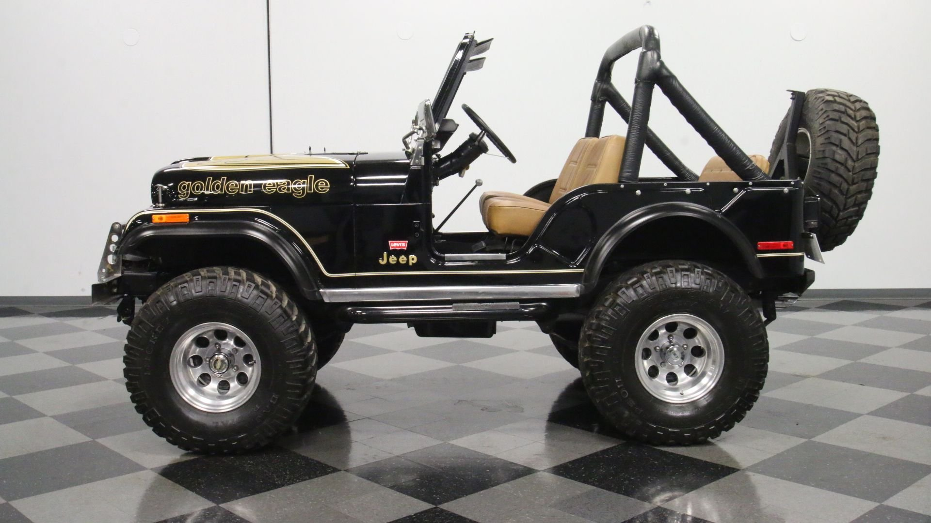 1976 jeep cj5 golden eagle tribute