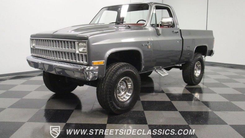 For Sale: 1981 Chevrolet K-10