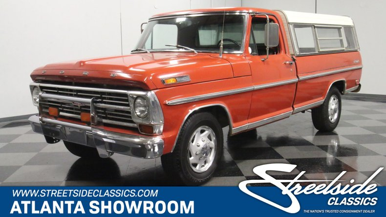 For Sale: 1968 Ford F-250