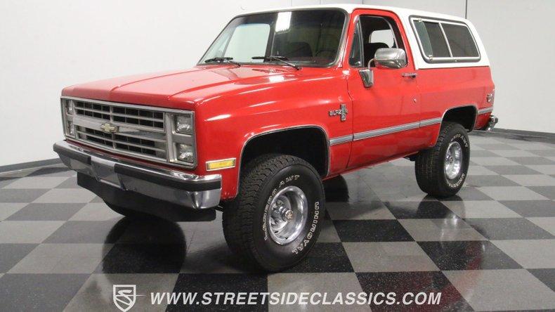 1987 Chevrolet Blazer For Sale