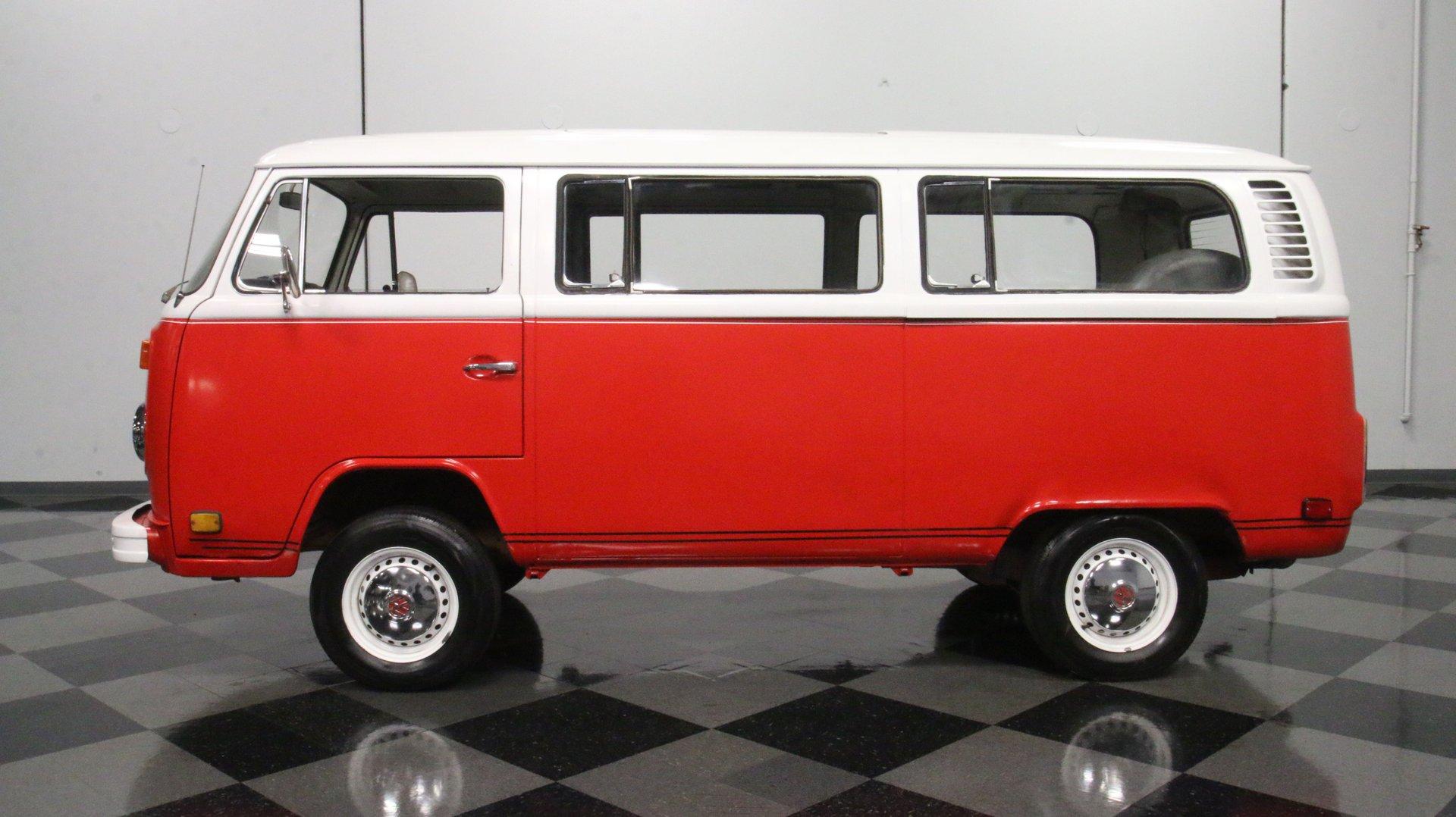 1977 volkswagen bus type 2