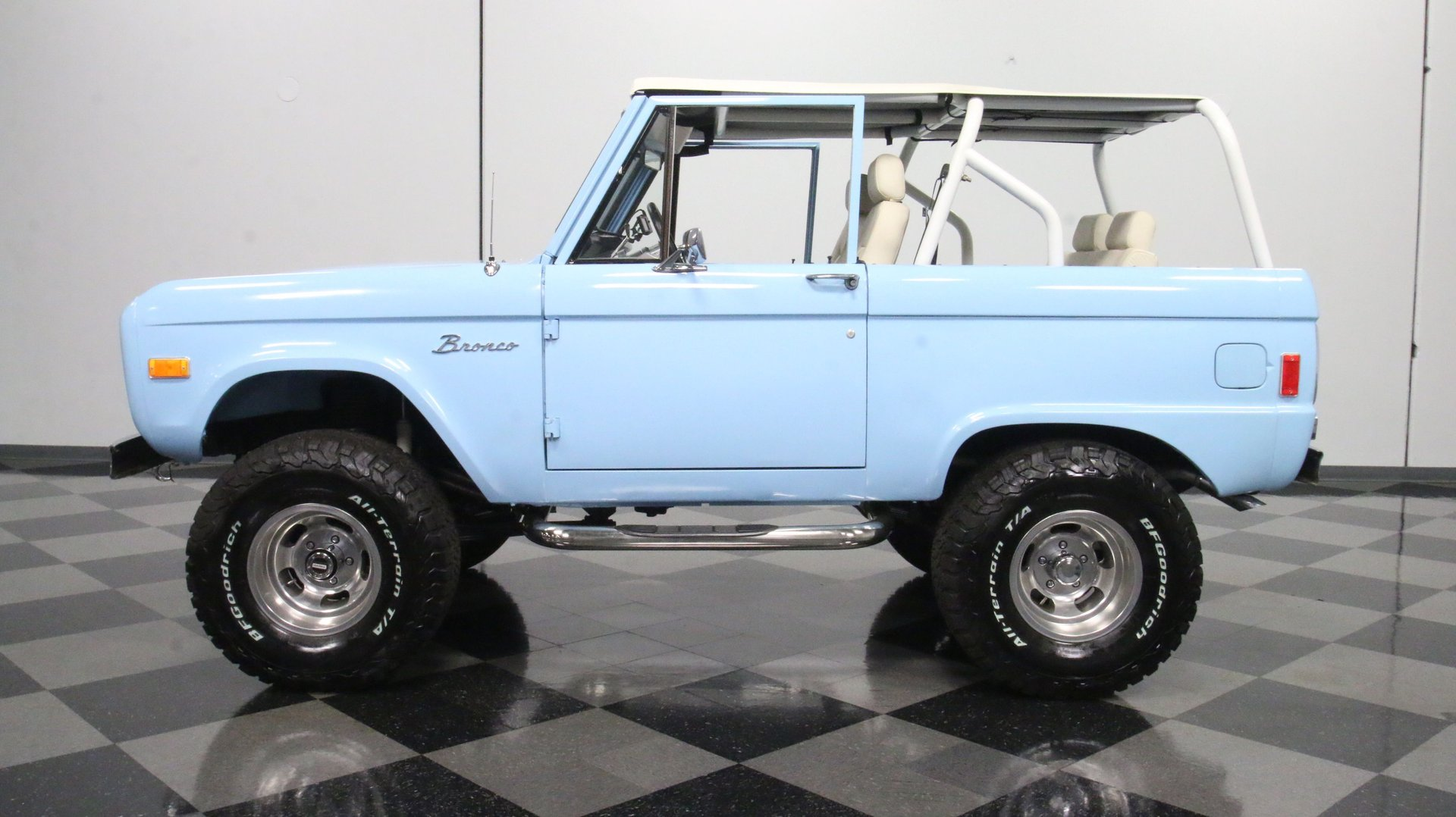 1977 ford bronco 4x4 fuel injected