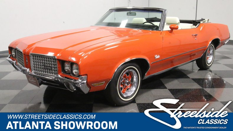 For Sale: 1972 Oldsmobile Cutlass