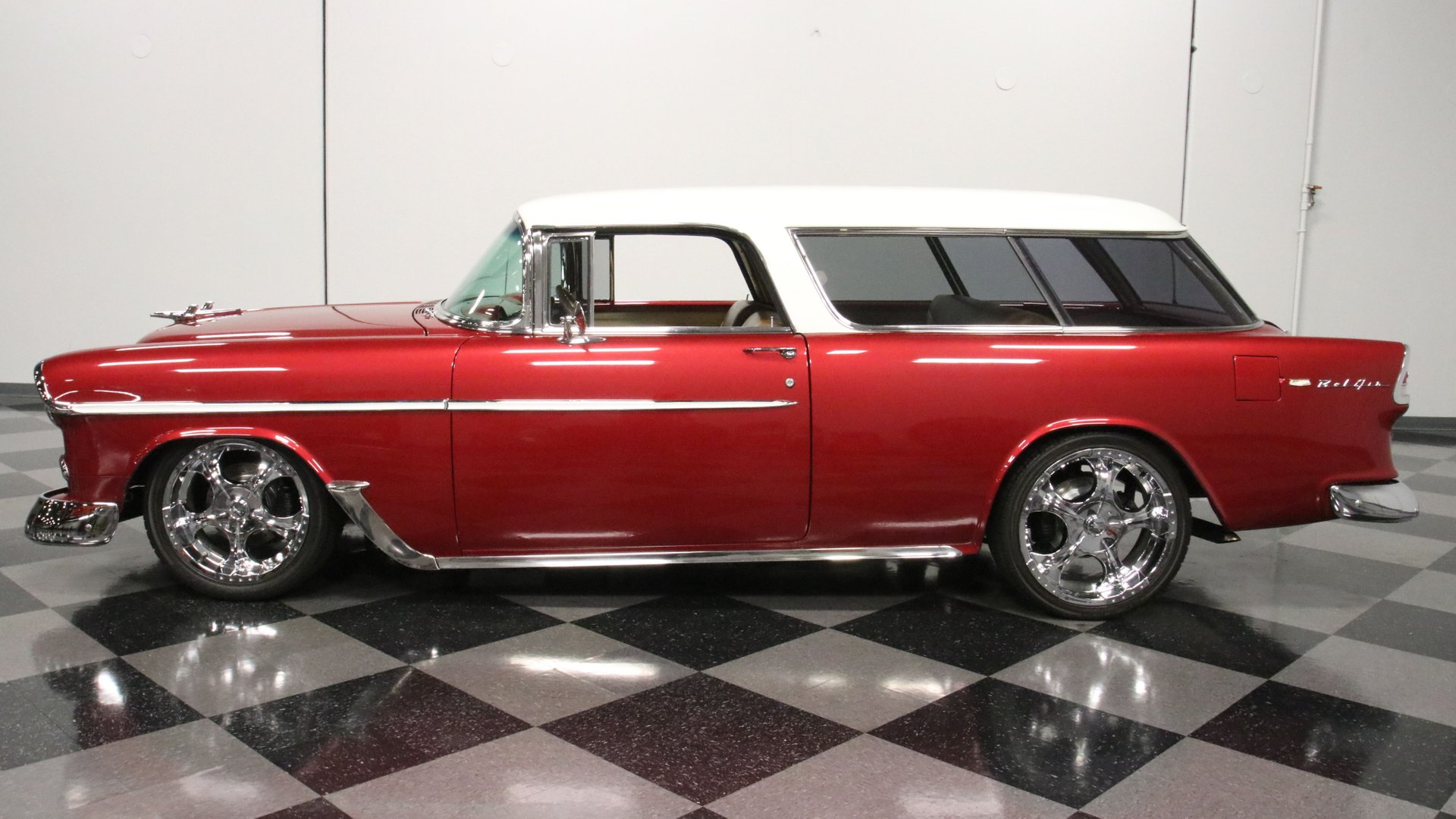 1955 chevrolet nomad restomod