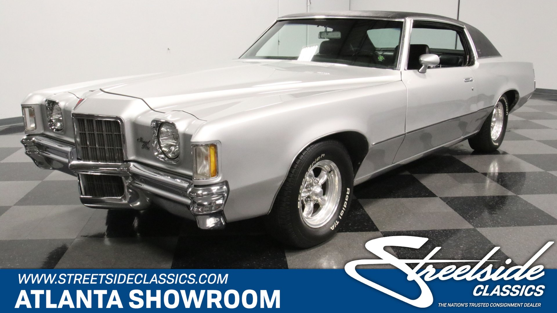 1972 Pontiac Grand Prix Classic Cars For Sale Streetside Classics The Nation S 1 Consignment Dealer