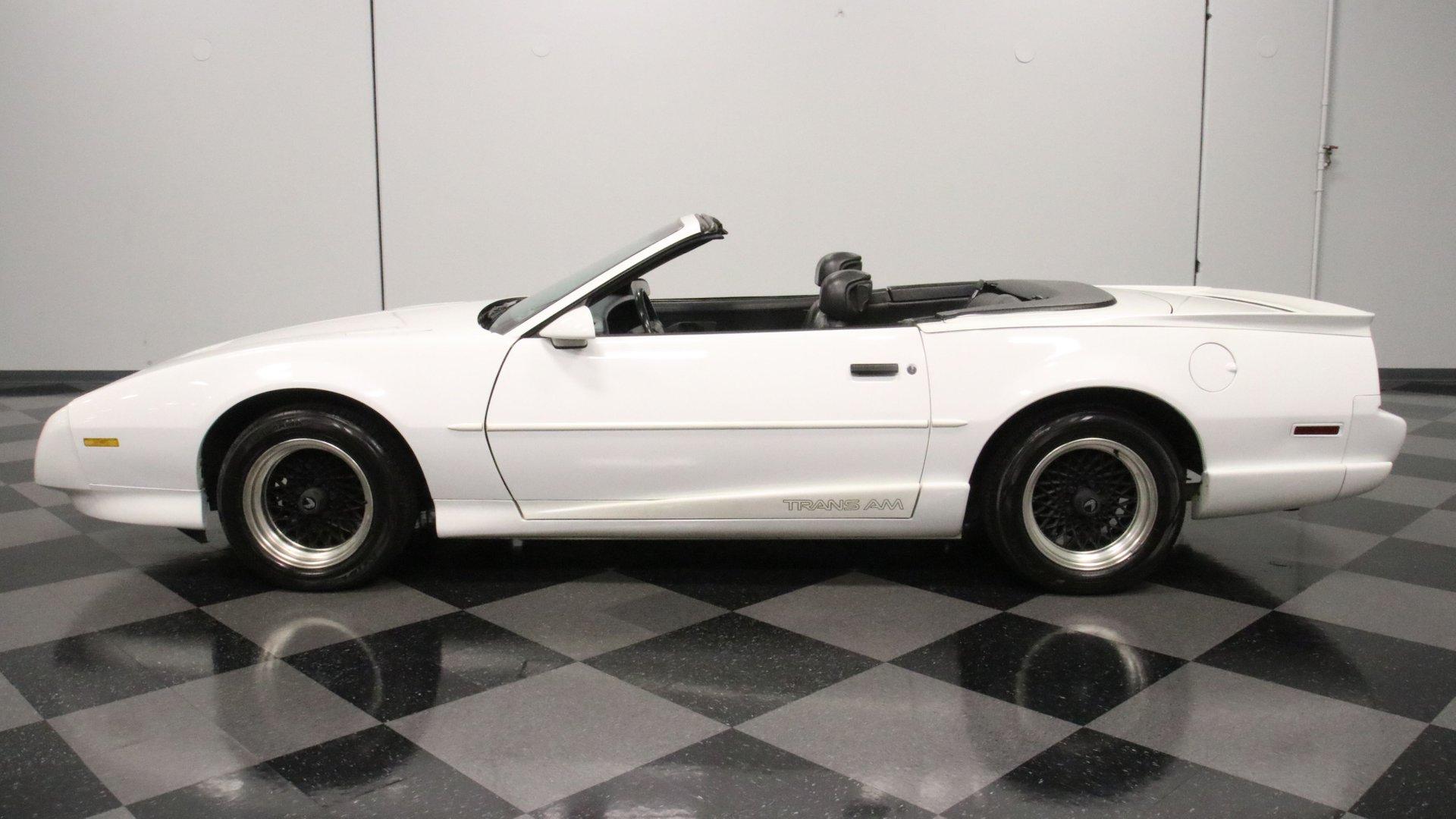 1992 pontiac firebird trans am convertible