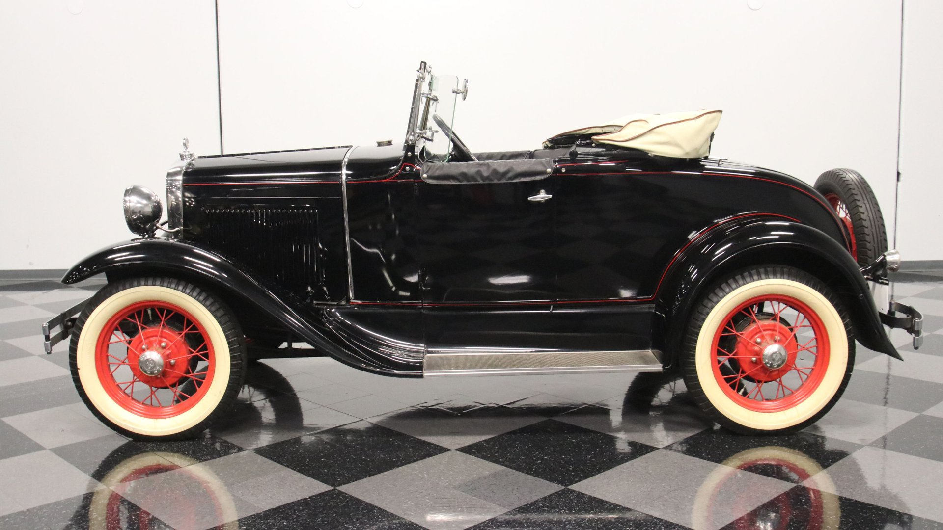 1931 ford model a rumble seat roadster