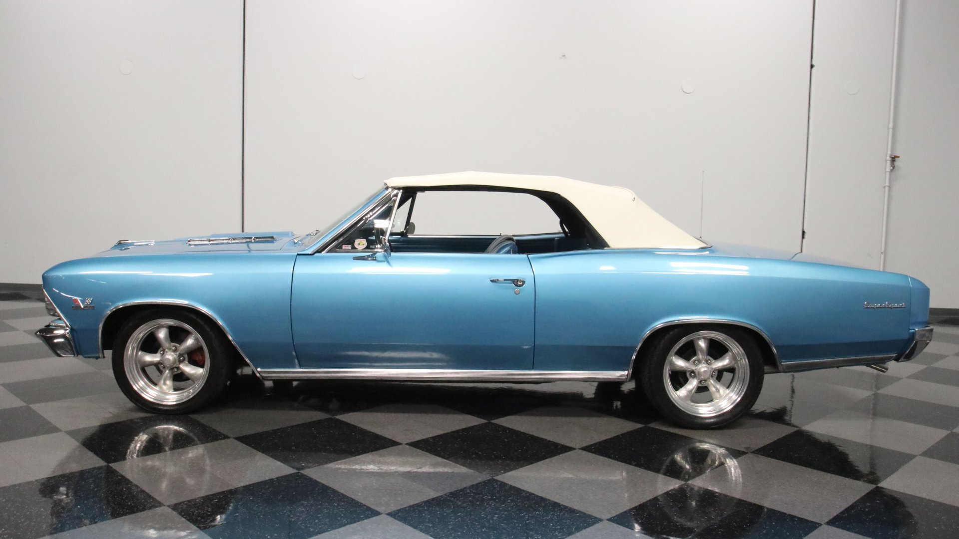 1966 chevrolet chevelle ss 396 convertible clone