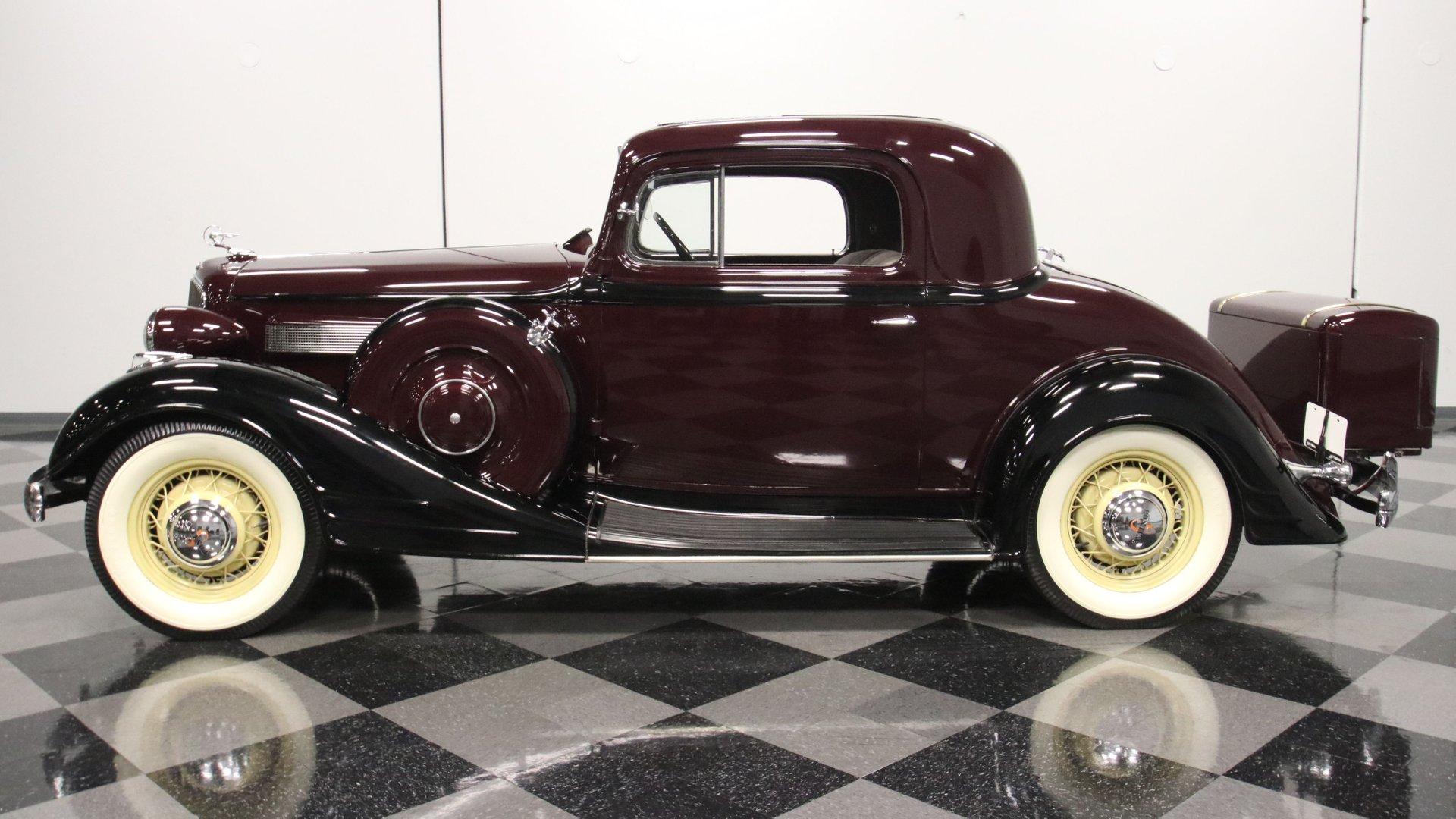 1934 pontiac 8 sport coupe