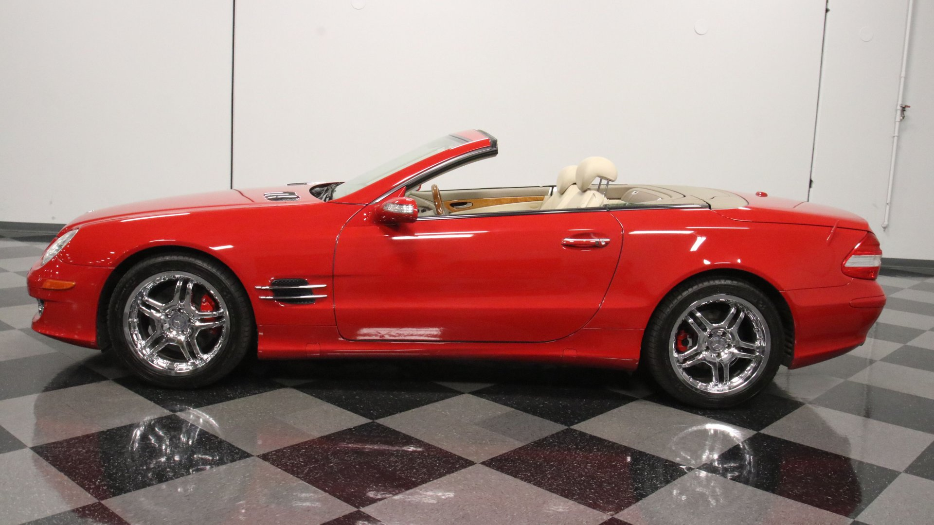 2008 mercedes benz sl 550 convertible