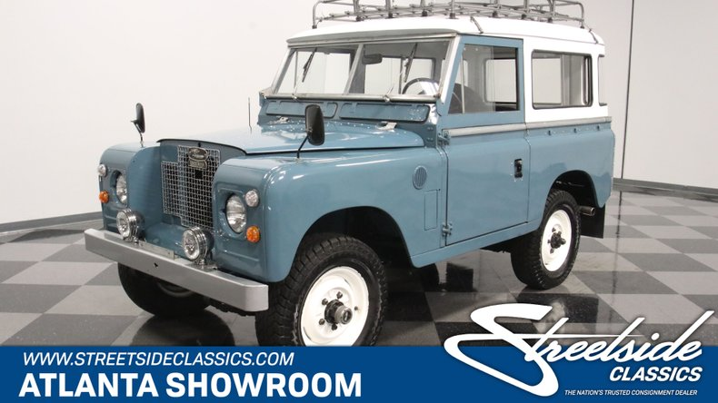 For Sale: 1972 Land Rover Series IIA