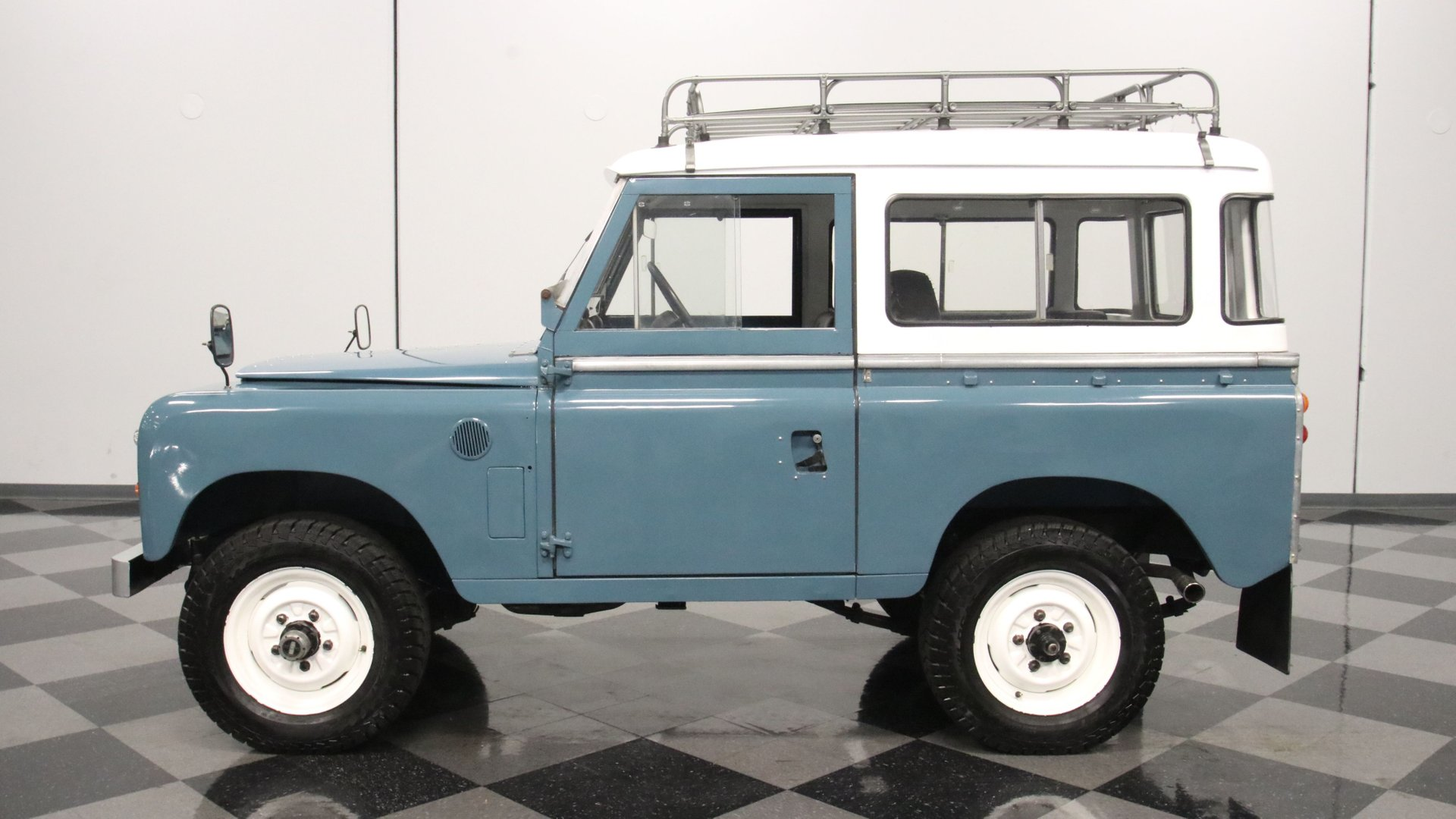 1972 land rover series iia