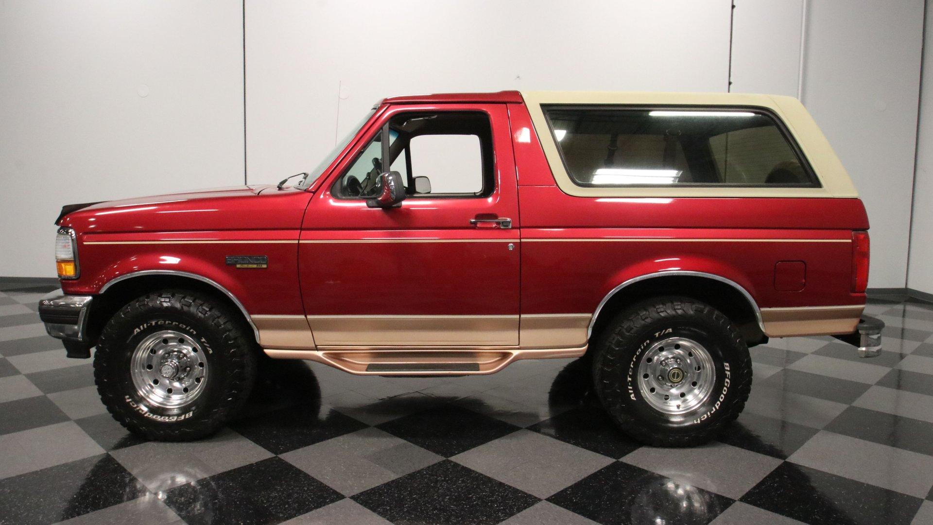 1995 ford bronco 4x4 eddie bauer