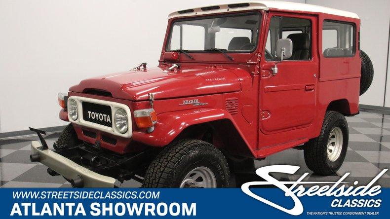 For Sale: 1961 Toyota FJ40