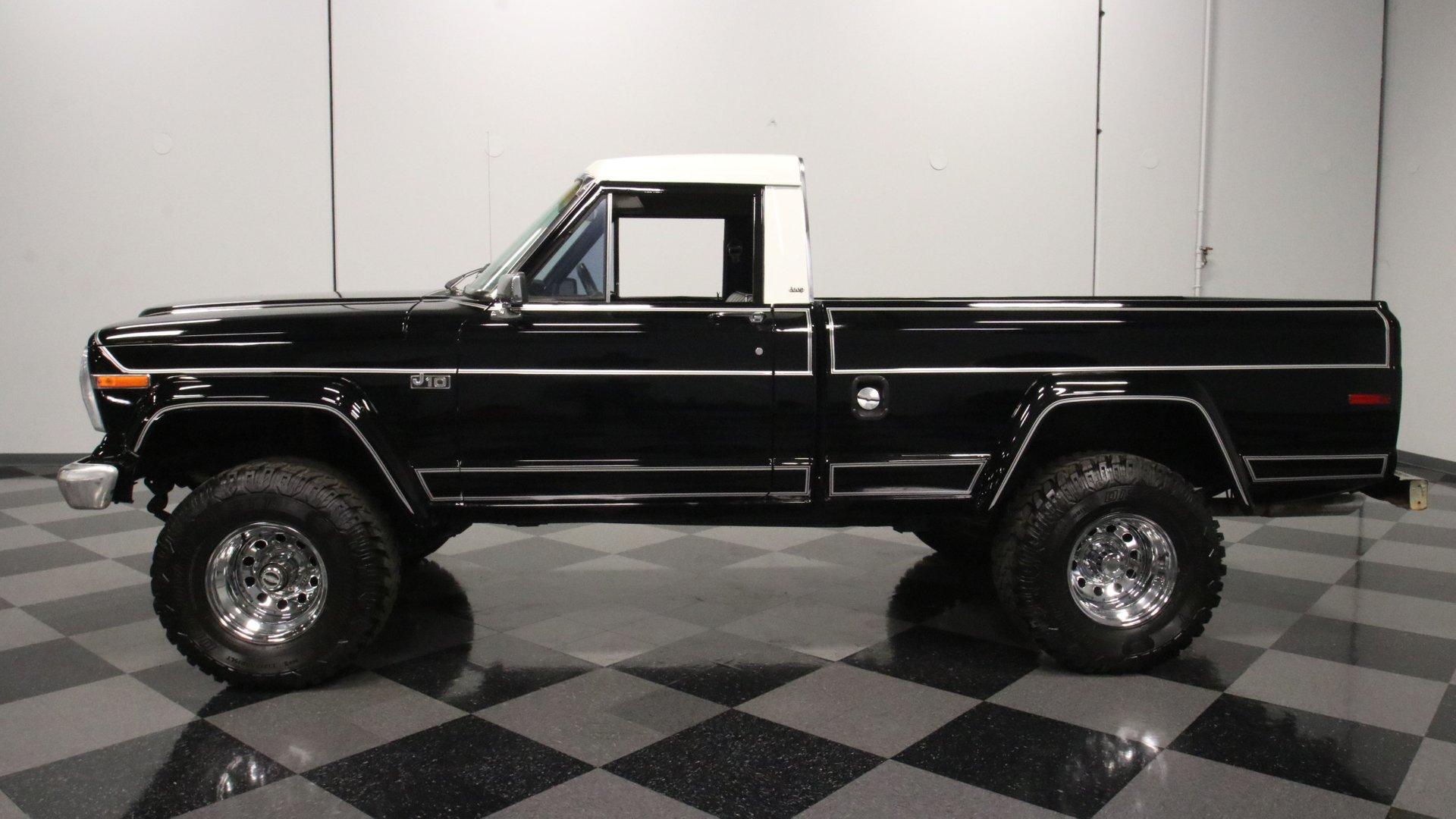 1984 jeep j10 4x4