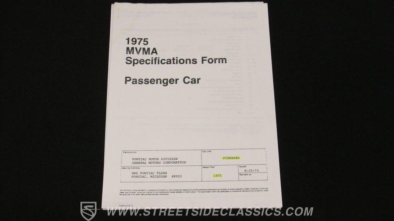 1975 Pontiac Firebird 69