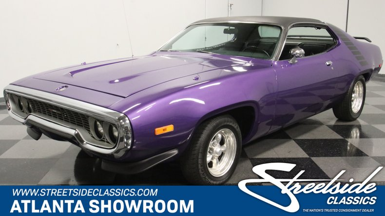 For Sale: 1972 Plymouth Satellite