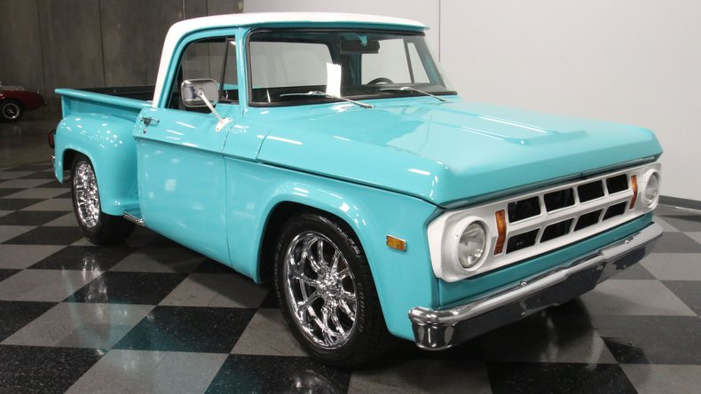 1971 Dodge D100 17
