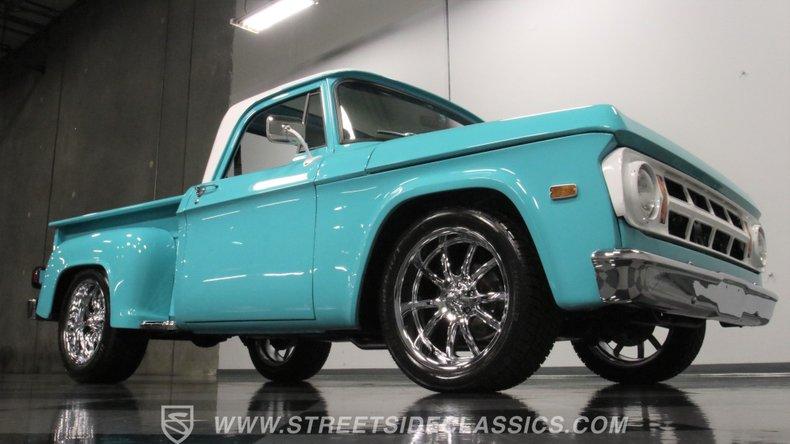 1971 Dodge D100 33