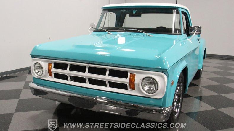 1971 Dodge D100 20