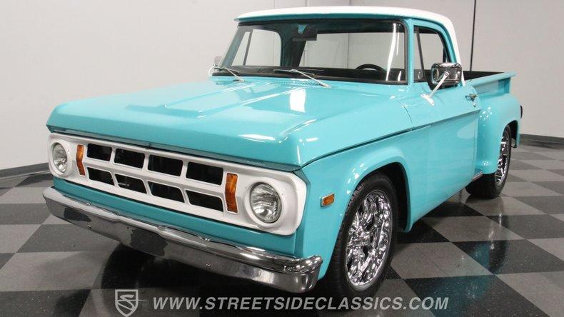1971 Dodge D100 5