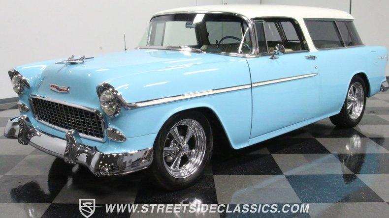 For Sale: 1955 Chevrolet Nomad