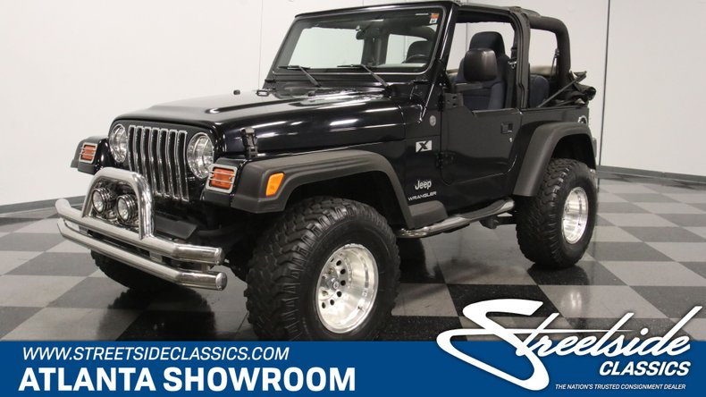 For Sale: 2004 Jeep Wrangler