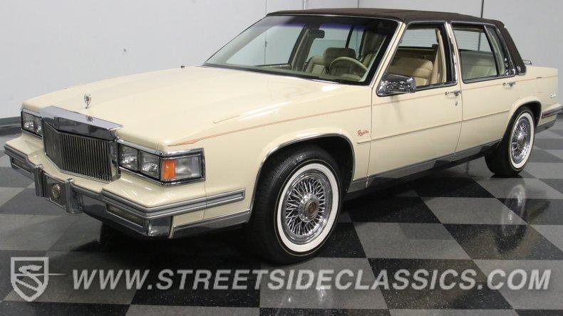 For Sale: 1986 Cadillac DeVille