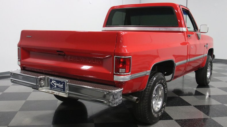 1987 Chevrolet K10 13