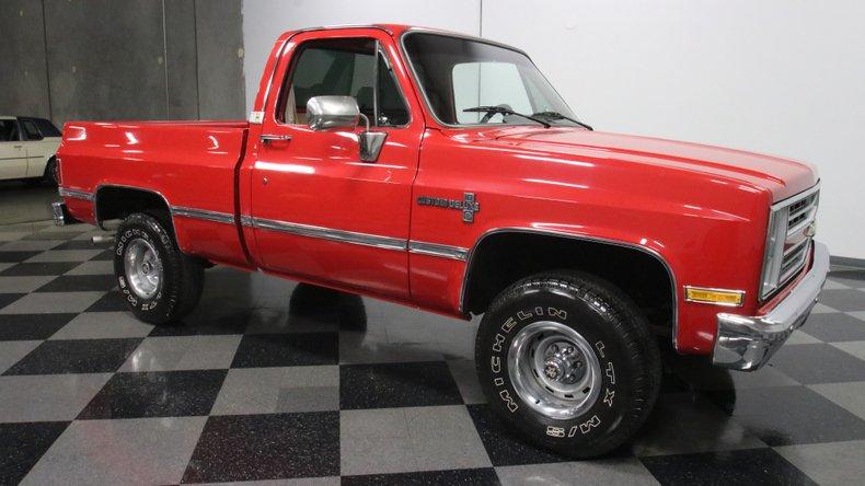 1987 Chevrolet K10 16