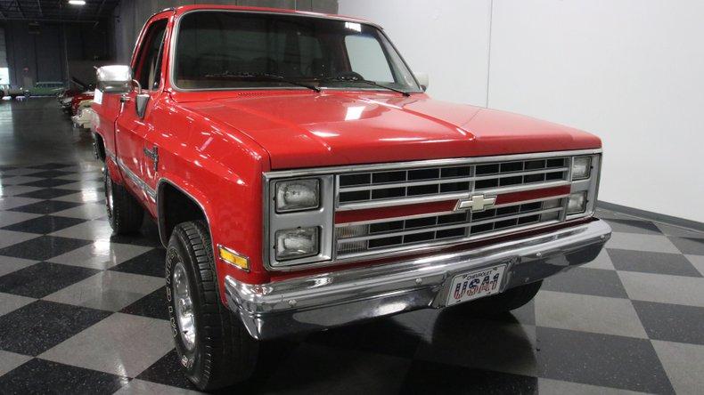 1987 Chevrolet K10 18