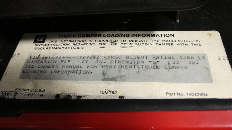 1987 Chevrolet K10 63