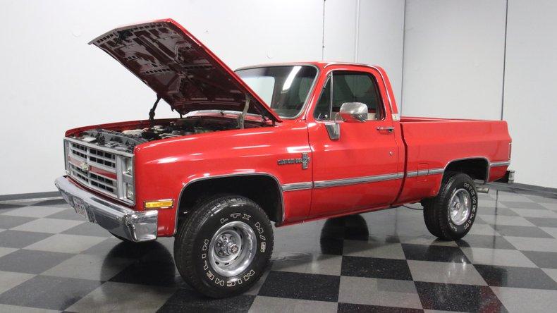 1987 Chevrolet K10 34