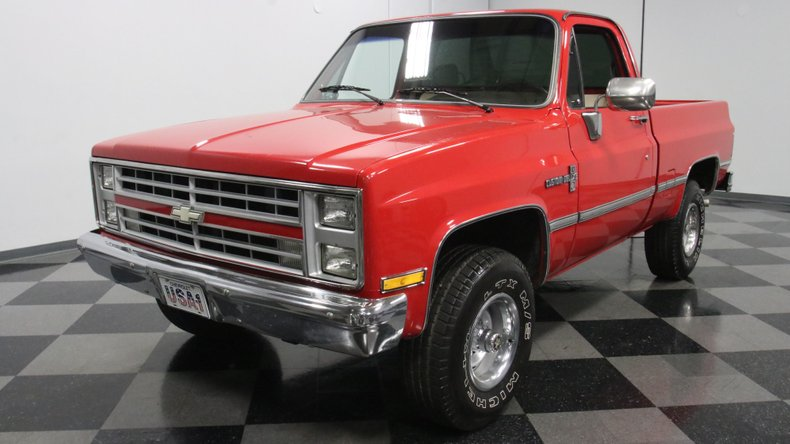 1987 Chevrolet K10 5