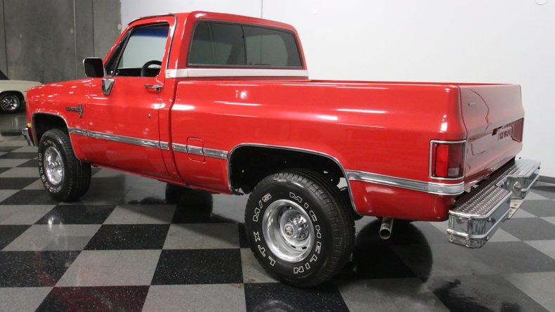 1987 Chevrolet K10 8