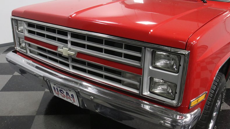 1987 Chevrolet K10 22