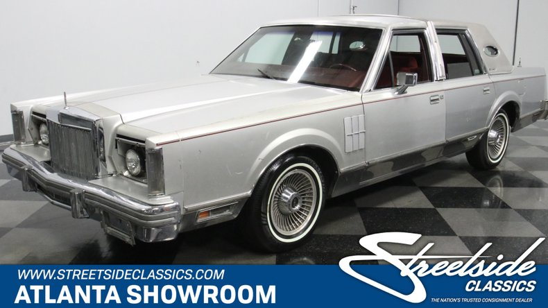 For Sale: 1980 Lincoln Continental