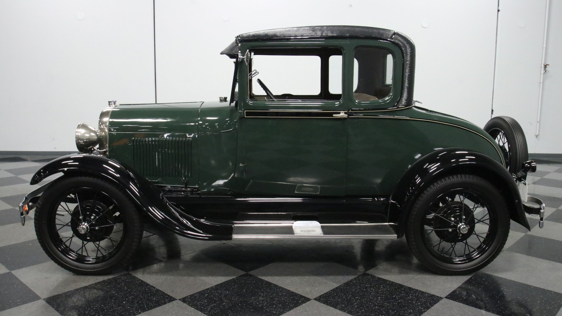 1928 ford model a rumble seat coupe