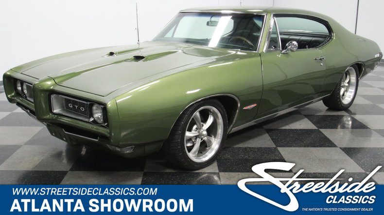 For Sale: 1968 Pontiac GTO