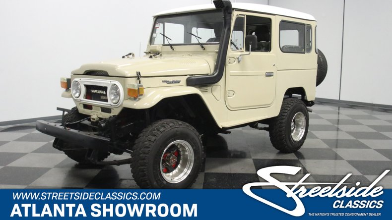 For Sale: 1977 Toyota Land Cruiser