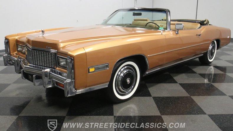 For Sale: 1976 Cadillac Eldorado