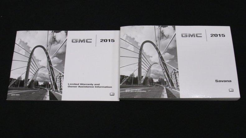 2015 GMC Savana G2500 74