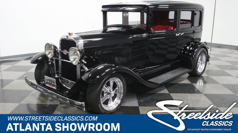 1929 Oldsmobile 4 Door Sedan Restomod 1