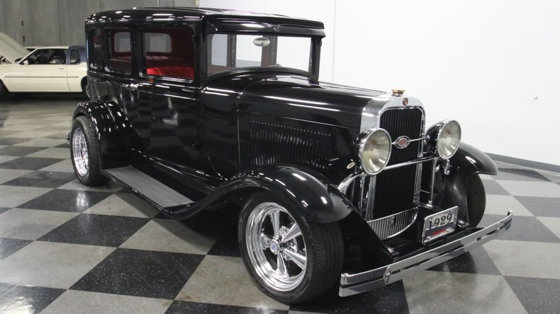 1929 Oldsmobile 4 Door Sedan Restomod 17