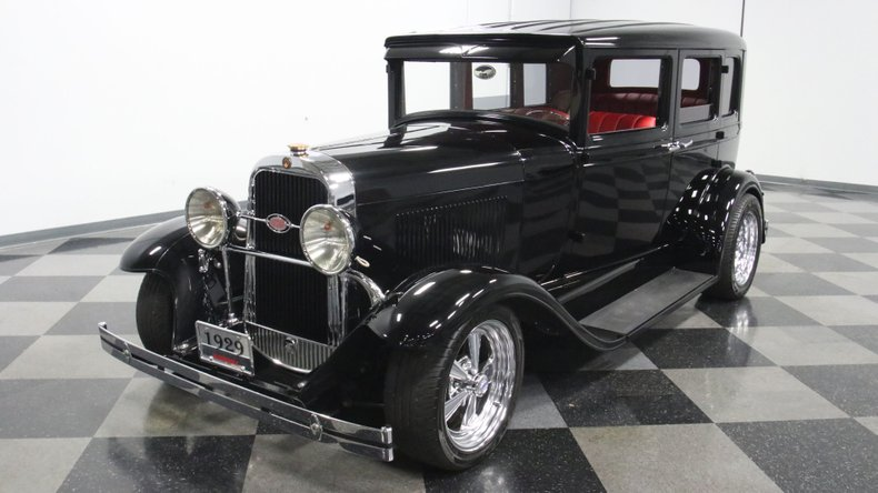 1929 Oldsmobile 4 Door Sedan Restomod 5